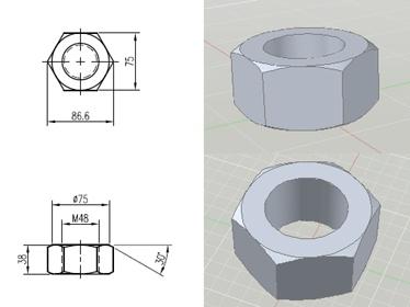 马桶 旋钮 结构图